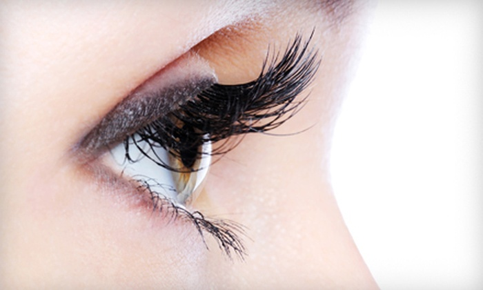 The Lash & Wax Boutique - Multiple Locations: Extended Bikini Wax, Pomegranate Brightening Peel, or Full Set of Eyelash Extensions at The Lash & Wax Boutique (Up to 55% Off). Two Locations Available.