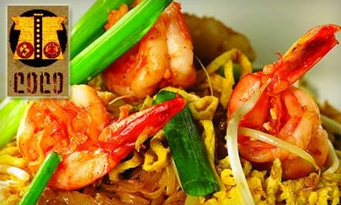 Coco Asian Bistro & Bar - Harbordale: $25 for $50 Worth of Pan-Asian Fare and Drinks at Coco Asian Bistro & Bar