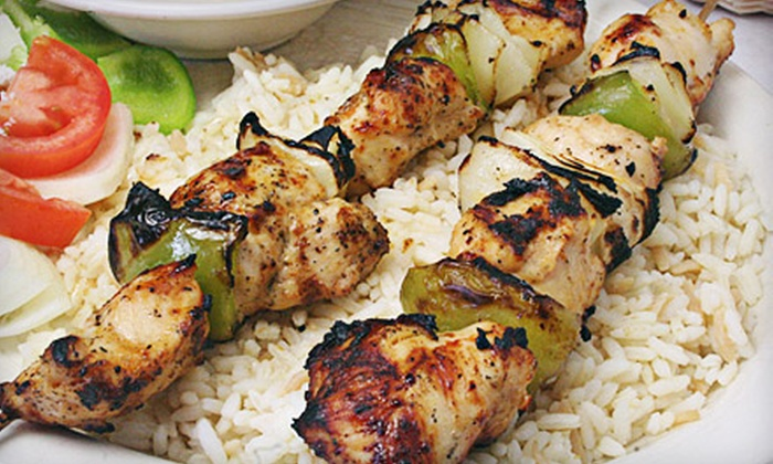 Cristelle's Restaurant - Upper Washington - Spring Street: Middle Eastern and Mediterranean Fare at Cristelle's Restaurant in West Roxbury (Half Off ). Choose Between Two Options.