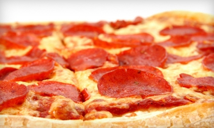 Dean's Pizza - Modesto: $10 for $20 Worth of Pizza and Drinks at Dean's Pizza