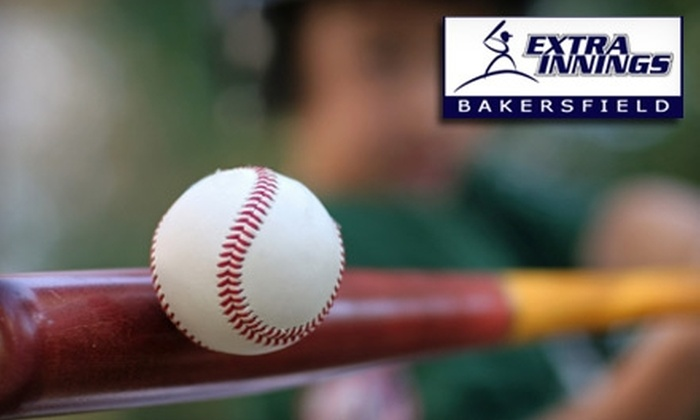 Extra Innings Bakersfield - Belsera: $7 for 30 Minutes of Unlimited Hitting at Extra Innings Bakersfield ($15 value)