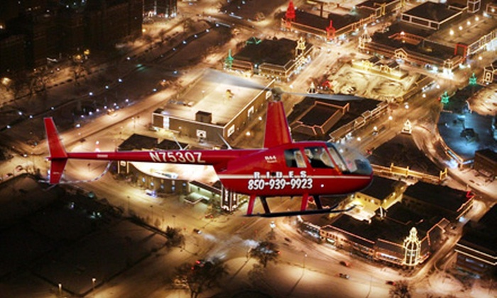Timberview Helicopters - Kansas City: $149 for a Holiday-Lights Helicopter Tour from Timberview Helicopters ($299 Value)
