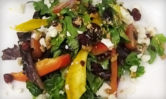The Mindful Mango Cafe - West End: $10 for $20 Worth of Café Fare at The Mindful Mango Cafe
