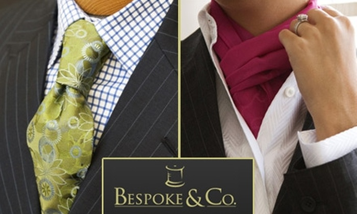 Bespoke & Co. - Improvement League of Plant City: $95 for $225 Worth of Custom-Tailored Clothing from Bespoke & Co.