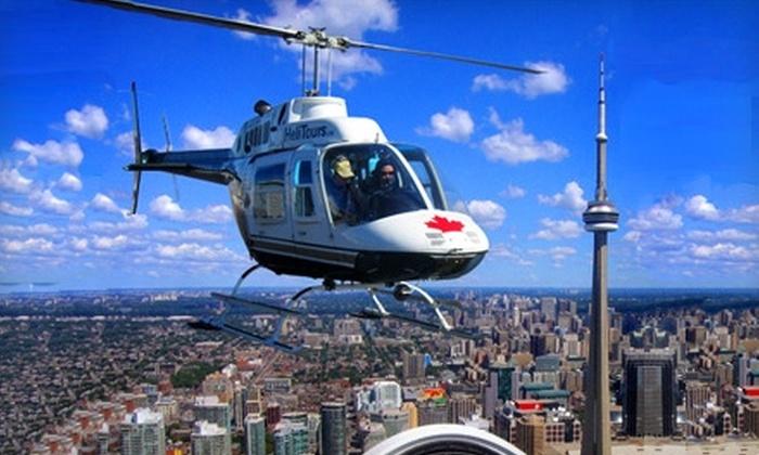 Toronto Helicopter Tours - Centre Island: $75 for a 15-Kilometre Ride Plus Souvenir Photo with Toronto Helicopter Tours ($128.82 Value)