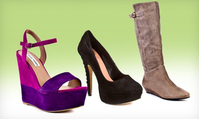 Heels.com: Heels, Boots, and Shoes from Designers Such As Steve Madden and Vince Camuto from Heels.com (Half Off). Two Options Available.