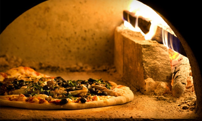Goodfella's Bayonne - Bayonne: $19 for a Three-Course Pizza Dinner with Starter and Salad for Two at Goodfella's Bayonne (Up to $40.93 Value)
