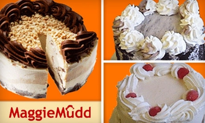 MaggieMudd - Bernal Heights: $20 for Ice Cream Cake from MaggieMudd (Up to $40 Value)