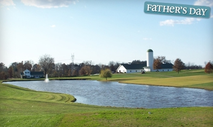 Country Oaks Golf Club - Montgomery: Round of Golf for Two with a Cart or Two Driving-Range Ball Buckets at Country Oaks Golf Club in Montgomery