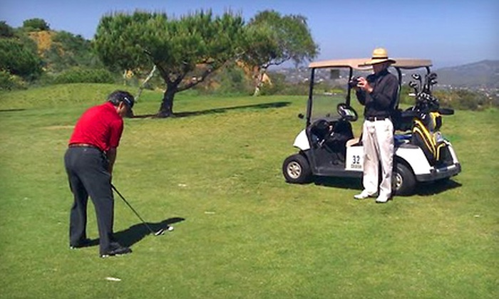 Matt McConnin, PGA Teaching Professional - Encinitas: Group Golf Lesson on the Course from Matt McConnin, PGA Teaching Professional, in Encinitas. Three Options Available.