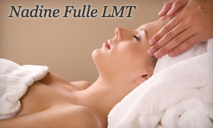 Nadine Fulle, LMT - East Aurora: $30 for a One-Hour Massage from Nadine Fulle, LMT (Up to $70 Value)