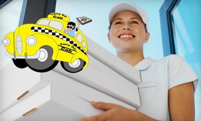 CarryOut-Cab - Boise: $10 for $20 Worth of Meal Delivery Services from CarryOut-Cab