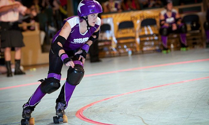 Portland's Rose City Rollers vs. Seattle's Rat City Rollergirls - Trinity Heights: $21 for a Rose City Rollers Derby Event for Two at Veterans Memorial Coliseum on December 7 (Up to $43.50 Value)