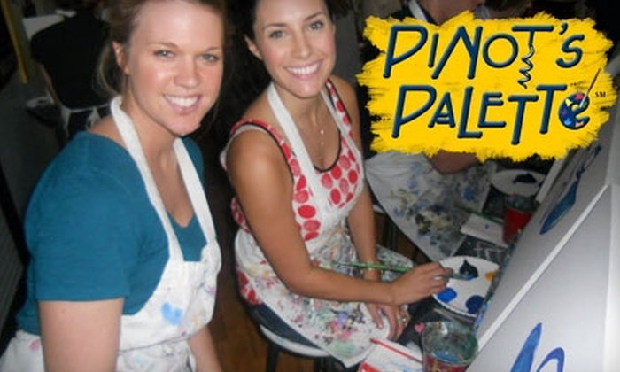 Pinot's Palette - Great Uptown: $20 for $45 Worth of Classes at Pinot's Palette