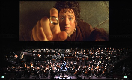 The Lord Of The Rings In Concert at the Save Mart Center on Fri., Oct. 21 at 7:30PM: Lower Level Seating - The Lord of the Rings in Concert in Fresno