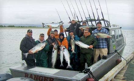 Option 1: Valid 5/145/19 - All-Inclusive Alaskan Fishing Tour in Gustavus