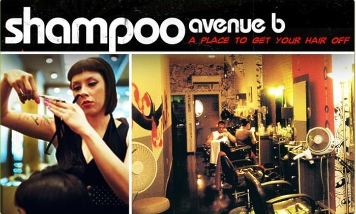 Shampoo Avenue B - East Village: $40 Women's Haircut at Shampoo Avenue B ($80 value)