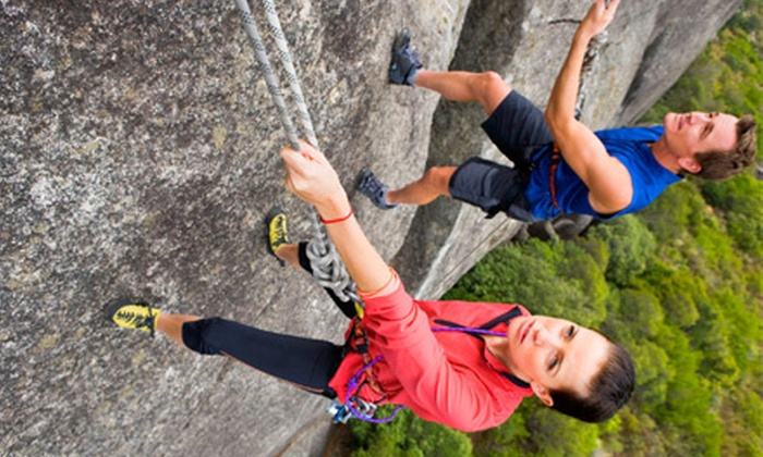 Castle Rock Climbing School - Santa Cruz Mountains: $149 for a Four-Hour Guided Rock-Climbing or Rappeling Tour for Two from Castle Rock Climbing School ($310 Value)