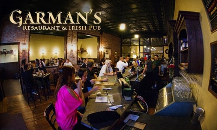 Garmans Restaurant & Irish Pub - Santa Paula: $15 for $30 Worth of Irish Pub Fare and Drinks at Garman's Restaurant & Irish Pub