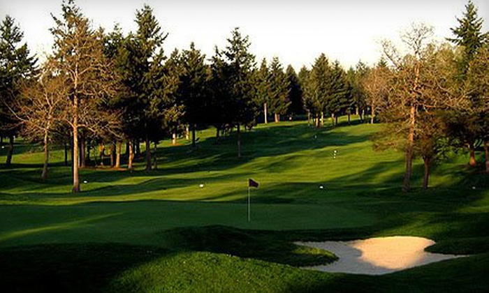Classic Golf Club - Elk Plain: $60 for 18 Holes of Golf for Four at Classic Golf Club in Spanaway (Up to $140 Value)