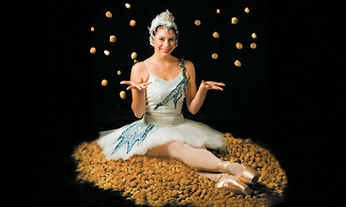 """Ticket to California Ballet Company's """"The Nutcracker"""" at the San Diego Civic Theatre. 20 Options Available."""