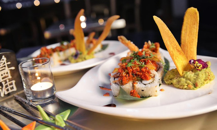 Sushi Mambo - Inwood: Japanese and Latin Fusion Food for Two or Four at Sushi Mambo (Up to 50% Off)