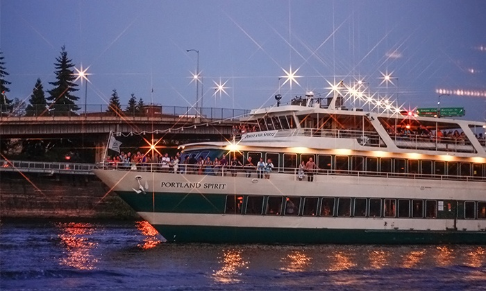 Portland Spirit Cruises - Salmon Springs Dock: $12 for a Totally 90s Dance Cruise from Portland Spirit Cruises ($24 Value)