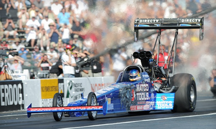 Drag Racing Event O Reilly Auto Parts 25th Annual Nhra Northwest