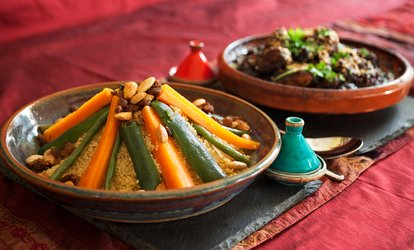 Two-Course Moroccan Meal and Glass of Prosecco for Two or Four at Marrakesh by Mindo (Up to 51% Off)