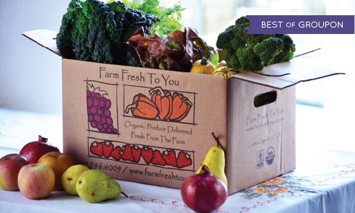 Farm Fresh To You - San Diego: $17 for $33 Worth of Delivered Organic Produce from Farm Fresh To You
