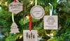 Up to 70% Off Personalized Christmas Ornaments
