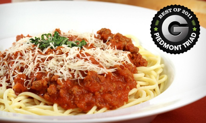 Vincenzo's - Winston Salem: $10 for $20 Worth of Italian Lunch or Dinner Fare at Vincenzo's in Winston-Salem