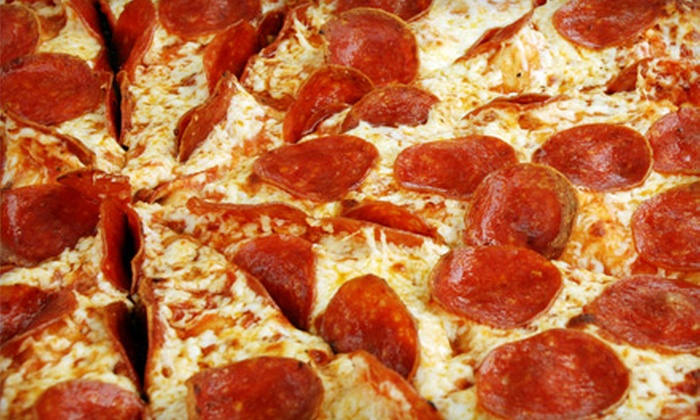 Wheelhouse Pizza & Deli - Corey Ave: $15 for Pizza Dinner for Two at Wheelhouse Pizza & Deli in St. Pete Beach (Up to $30.88 Value)