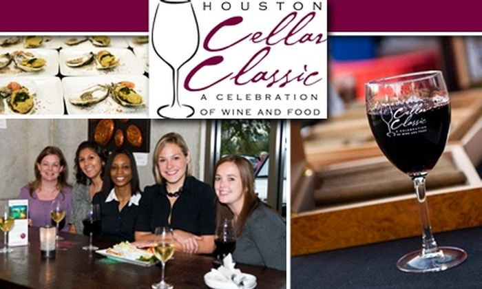 The Houston Cellar Classic Event - Great Uptown: $25 Ticket to The Houston Cellar Classic Grand Tasting on 10/24