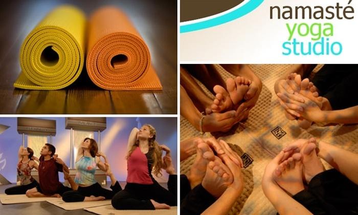 Namasta Yoga Studio - Tampa Bay Area: $25 for 8 Yoga Classes at Namaste Yoga Studio (About $3 a Class)