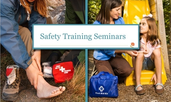 Safety Training Seminars - Potrero: $25 for a Three-Hour First-Aid Certification Class at Safety Training Seminars ($50 Value)