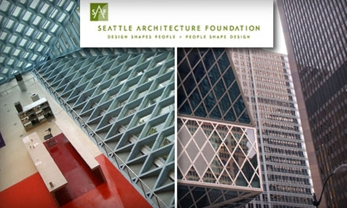 The Seattle Architectural Foundation - Seattle: $7 for One of Fourteen Educational Architectural Walking Tours from The Seattle Architecture Foundation ($15 Value)