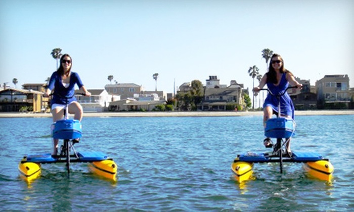 Long Beach HydroBikes - Belmont Shore: One- or Two-Hour Hydrobike Rental at Long Beach HydroBikes