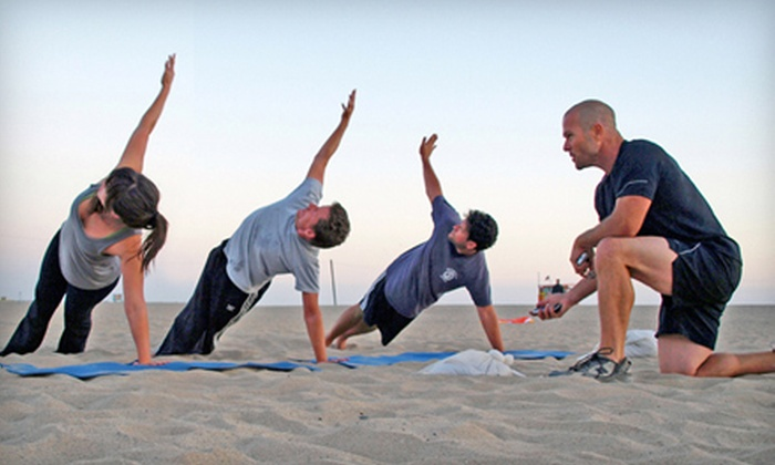 Ultimate Beach Workout - Wilshire Montana: Five Classes or One Month of Outdoor Boot Camp at Ultimate Beach Workout in Santa Monica