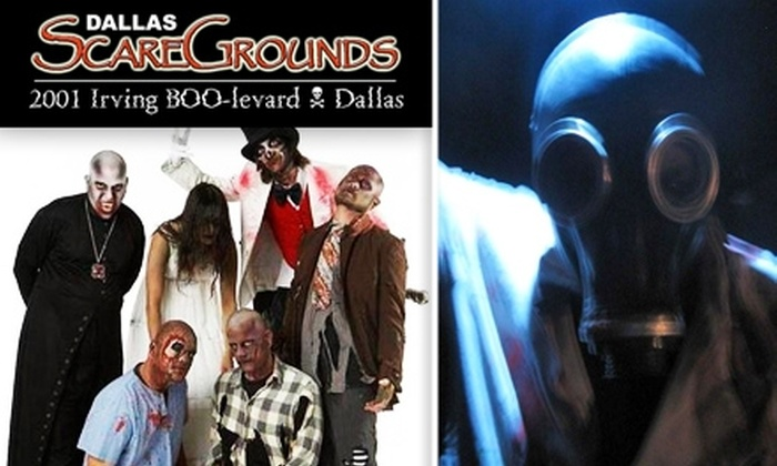 Dallas ScareGrounds  - West Dallas: $10 for Admission to Festival and Three Haunted Houses at Dallas ScareGrounds ($20 Value)