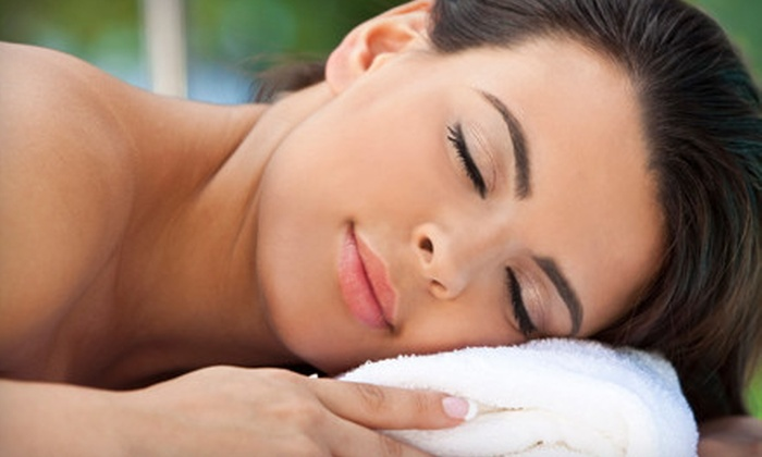 Ageless Organic Salon and Spa - Forest: Hot-Stone Massage and Reflexology or Massage and Gold Facial at Ageless Organic Salon and Spa in Forest (Up to 54% Off)