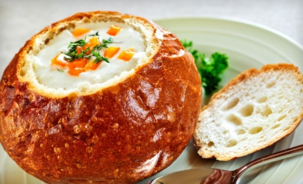 $10 Groupon - NY Soup Exchange in Garden City