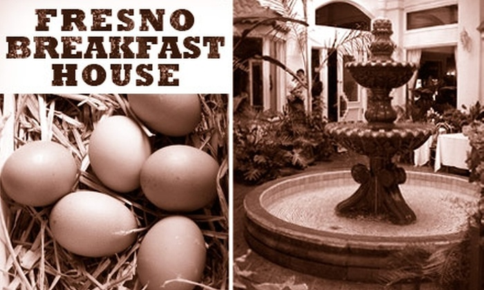Fresno Breakfast House - Multiple Locations: $5 for $12 Worth of Delicious Food and Drinks at Fresno Breakfast House