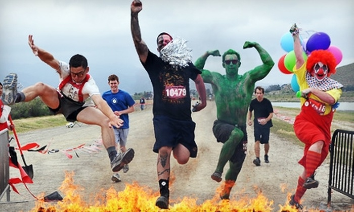 The World is Fun - North Bend: Volunteer with The World is Fun at the Warrior Dash 5K Race. Two Dates Available.