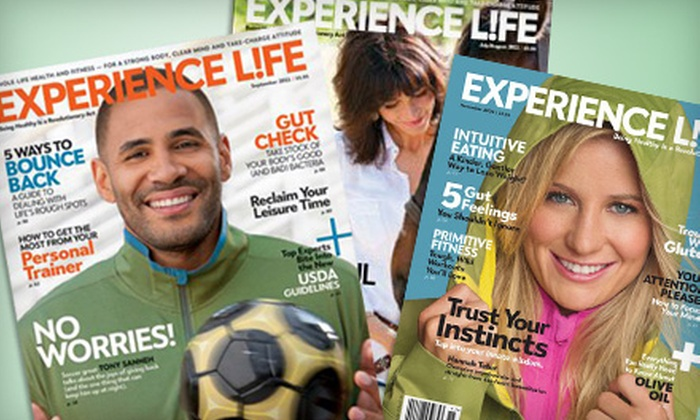 """Experience Life Magazine - Minneapolis / St Paul: $10 for a One-Year Subscription to """"Experience Life"""" Magazine (Up to $20 Value)"""
