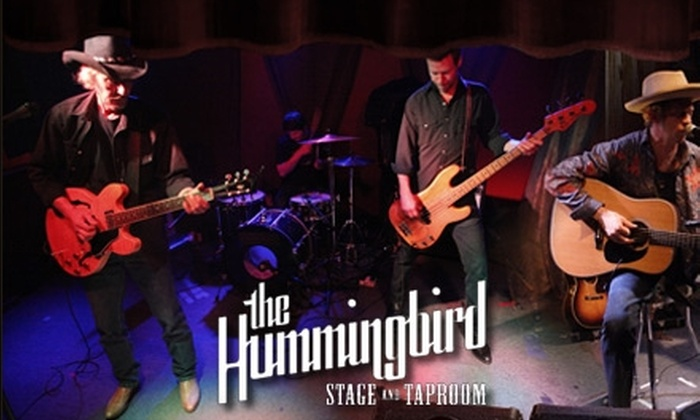 The Hummingbird Stage and Taproom - Macon: $5 for $10 Worth of Tickets to Live Music at The Hummingbird Stage and Taproom