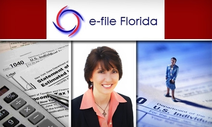 E-File Florida - Davie: $75 for $250 Worth of Tax Filing & Consultation From E-File Florida