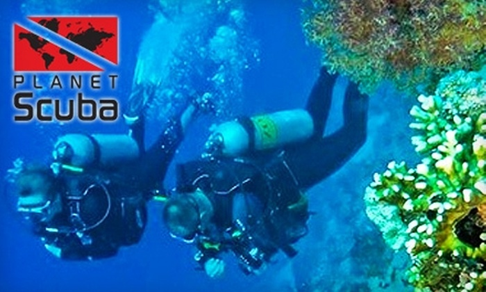Planet Scuba - Northmanor: $25 for a Two-Hour Try Scuba Class at Planet Scuba ($50 Value)