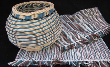 4-Hour Basket-Weaving Workshop (a $35 value) - The Weaving Shed in Sterling