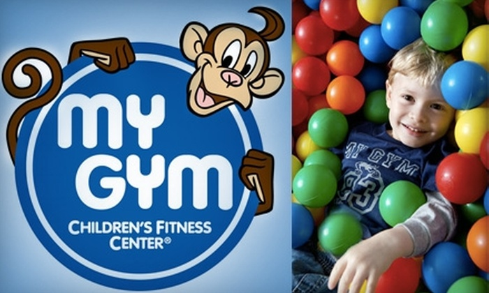 My Gym Children's Fitness Center - San Buenaventura (Ventura): $15 for 3 Free Play Visits to My Gym Children's Fitness Center (a $36 Value)